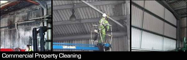 Commercial Property Cleaning Header