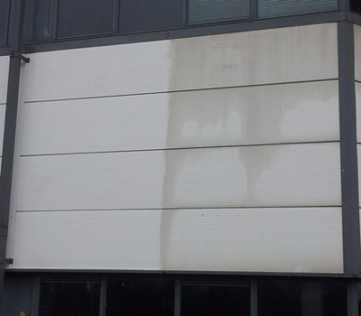 Cladding Cleaning Closeup before and after (1)